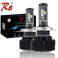 T1 Upgrade Version Car T6 LED Headlight Kits 60W 8000LM H1 H4 H7 H11 HB3 HB4