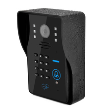 New Wireless Wifi IP Doorbell Camera RFID Password Video Door Phone Doorbell Intercom System Night Vision Access Control System