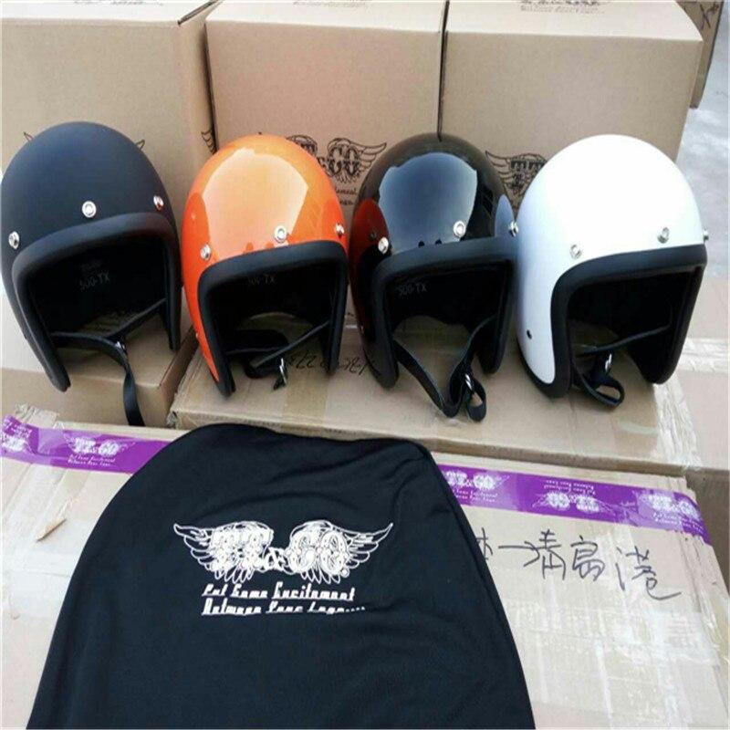 Motorcycle Helmet ECE certification  Brand Japan TT&CO Thompson Glass Fiber Vintage motorcycle helmet Harley motorcycle helmet 1000m motorcycle helmet intercom bt s2 waterproof for wired wireless helmet