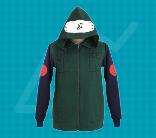 New Style font b Naruto b font Hatake Kakashi font b Cosplay b font Costume Adult