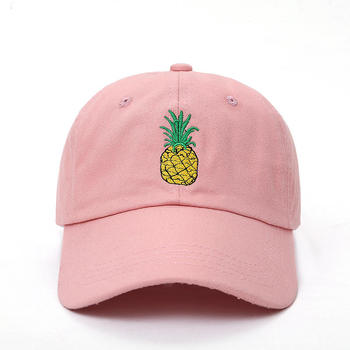 Pineapple Embroidered cap 3