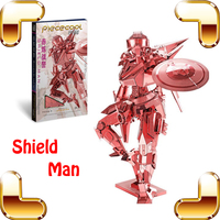 New Arrival Gift Shield Man 3D Metal Model DIY Super Hero Model Figure Assemble Alloy Toys Collection Decoration IQ Game