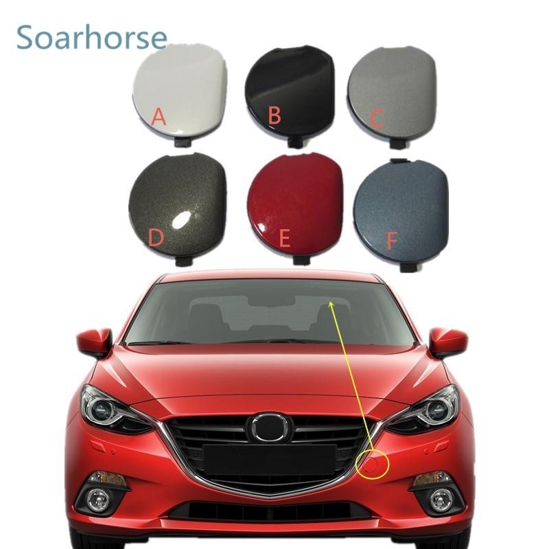 Front Bumper Towing Hook Cover Cap New BKC3-50-A11F For Mazda 3 Axela 2014-2016
