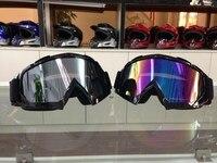 free shipping motocross goggles Eyewear Snow Snowboarding glasses snow/UV- Protection Multi-Color anti-fog lens Skiing Goggles