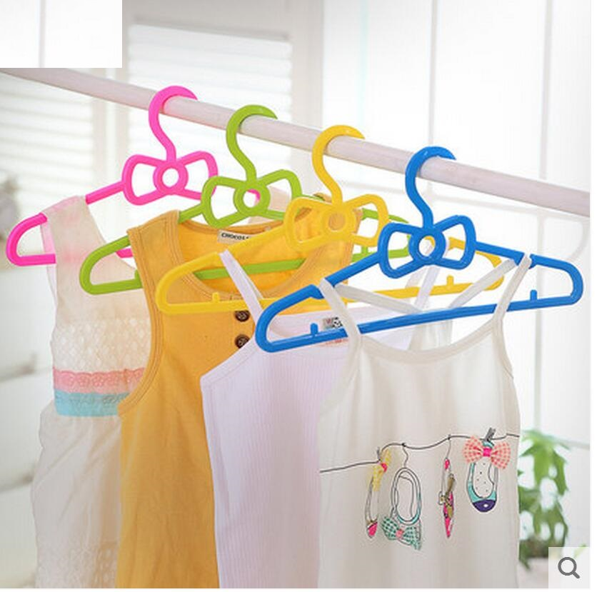 10 teile / los 30 cm Kunststoff Feste kinderbügel baby kleiderbügel - Home Storage und Organisation - Foto 5