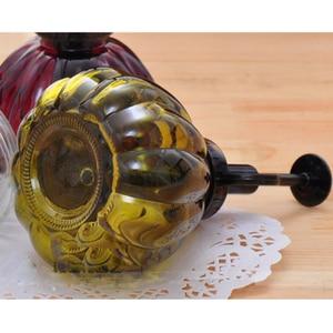 """6,5 """"Винтажная стеклянная бутылка-спрей в форме тыквы, цветной кувшин для полива цветов, садовые сочные принадлежности для посадки, разные цвета"""