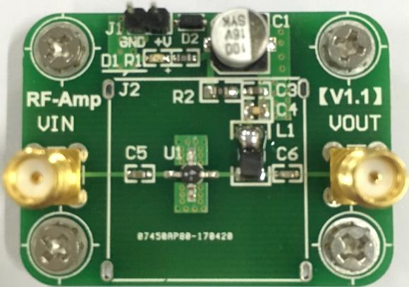 LNA low-noise RF amplifier DC to 4GHz broadband gain of about 14dB lna пиджак