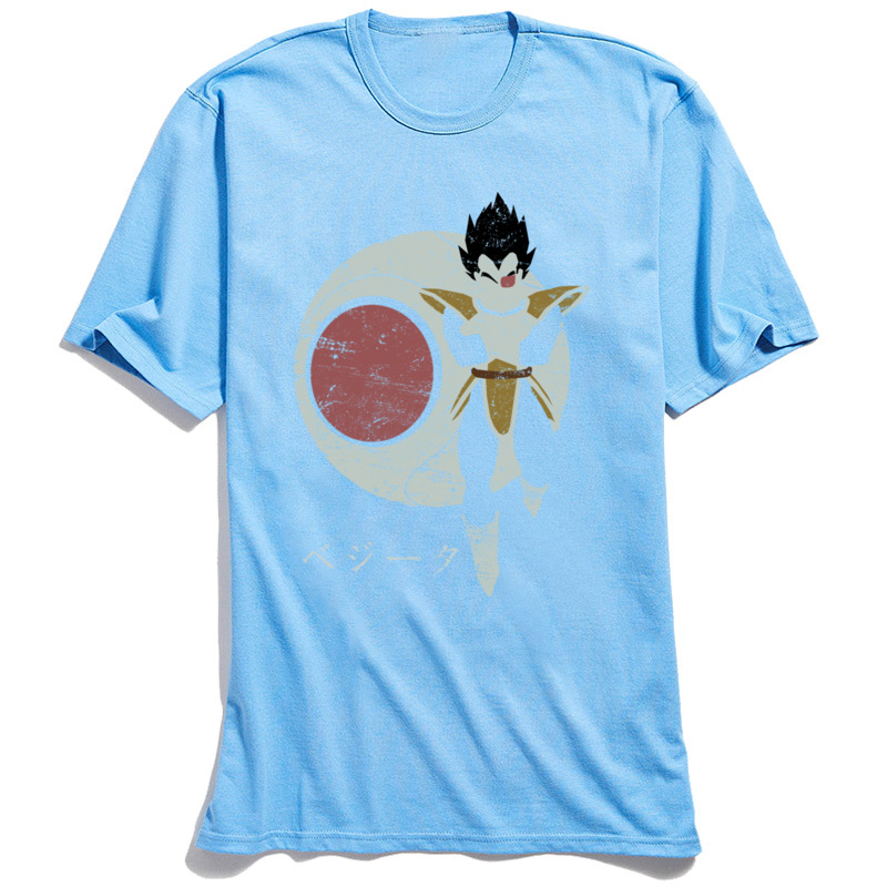 3D Printed Searching for Kakarot T-Shirt for Adult Newest Summer Fall Round Neck Cotton Fabric Short Sleeve T-Shirt Tops Shirts Searching for Kakarot light