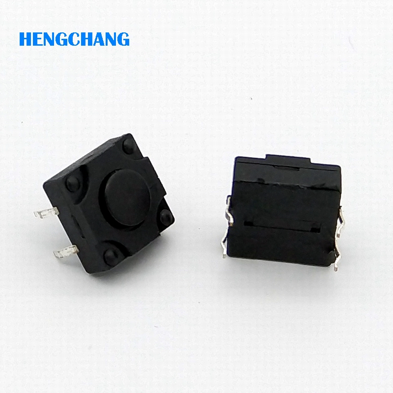 12X12X6mm 4pin waterproof DIP Tactile Tact Mini Push Button Switch Micro Switch Momentary 50pcs/lot