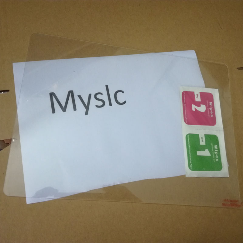 Myslc tempered glass+wipes screen cleaning cloth for XGODY B960 T1005 T1004 K108 AP10 10.1 inch 3g 4g android 6.0 tablet pc