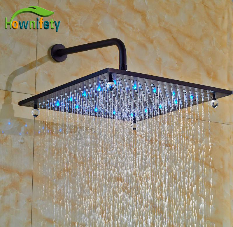 Bathroom Shower Sprayer Oil Rubbed Broze 16-in Shower Head +Shower Arm oil painting fabric bathroom decor shower curtain