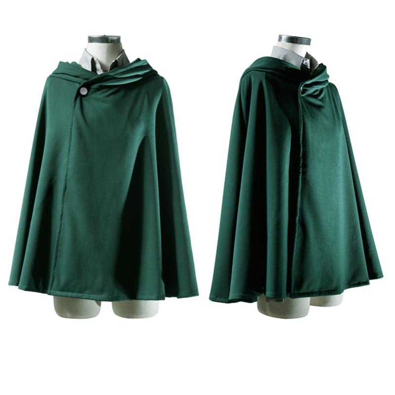 Feitong 2 Model Size Anime no Kyojin Cloak Cape Clothes Cosplay Costume Fantasia Attack on Titan Plus Size XXL