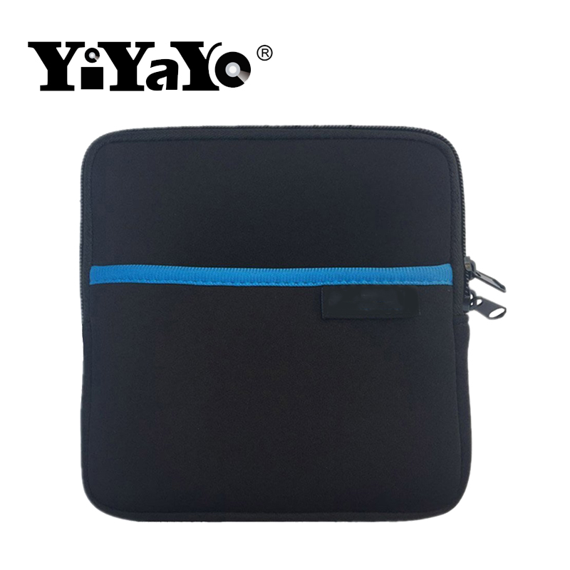 YiYaYo Hard drive package square Space cotton protective case Small and portable7.5x7.5x2.5 Prevent from falling shaking
