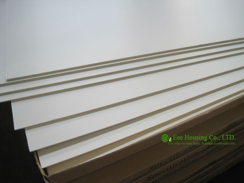 PVC Foam Sheet, Pvc Crust Foam Board, High Density White 18mm PVC Rigid Foam Sheet,Water Proof PVC Foam Board For Cabinet
