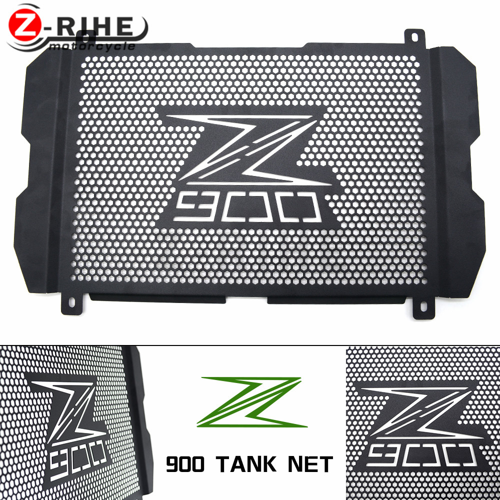 for Motorcycle Radiator Protector Cover Bezel Grille For Kawasaki Z900 2017 Motorbike Engine Grill Guard Covers High Quality Alu for kawasaki z900 2017 motorcycle radiator guard gloss stainless steel grille bezel radiator net protective cover
