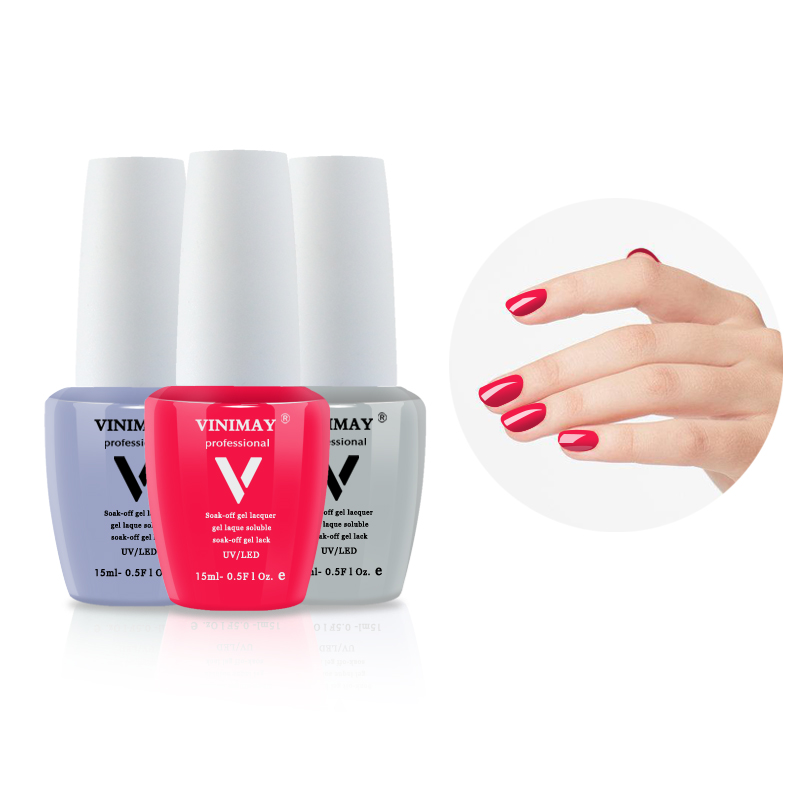 VINIMAY UV Gel Nail Polish Gelpolish Gel Varnis Gellak Varnish 96 Color Off White Color Primer Soak Off Gel Polish Nail Art 15ML