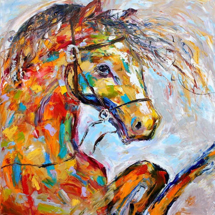 Professional Artist Hand Painted High Quality Abstract: Compare Prices On Horse Professionals- Online Shopping/Buy