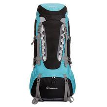 Outdoor Camping climbing ultralight backpack men and women hiking waterproof travel backpack sport bags pack 65L 6color цены