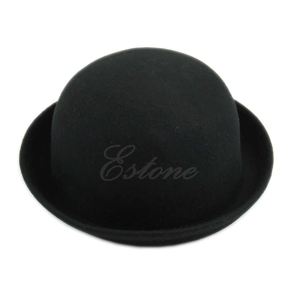 Vintage Vogue Ladies Women Men Unisex Vintage Wool Bowler Derby Hat Cap Aliexpress