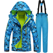 DHL Free shipping 2016 High Quality Ski Suit Women Winter Waterproof Snowboard Ski Jacket+Pants Warm Breathable Lady Sport Suit