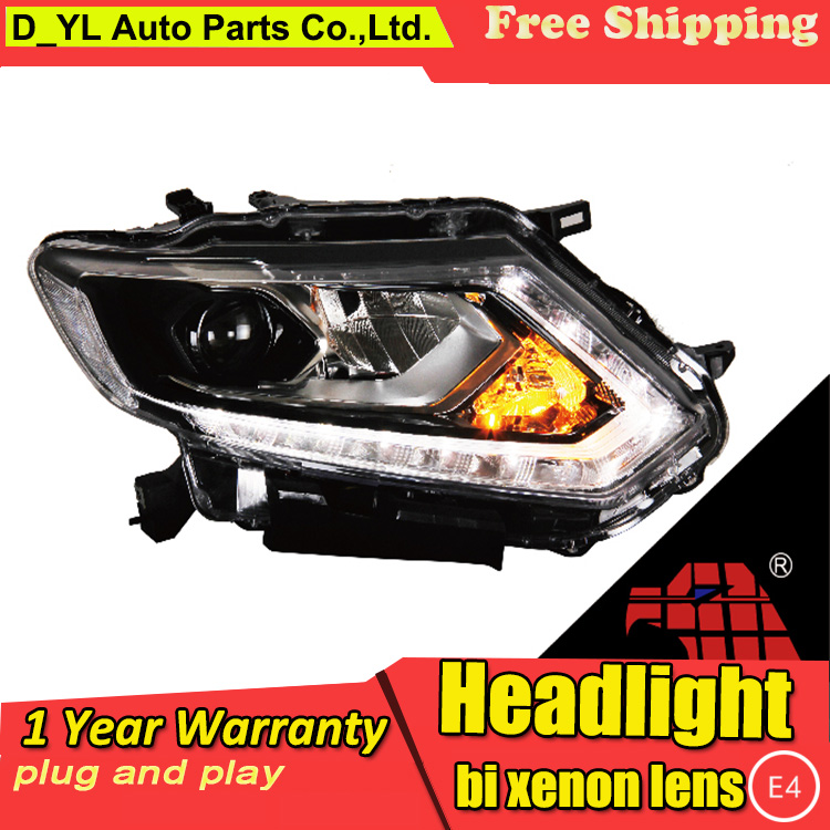 Car Styling For Nissan X Trail headlights 14 16 X Trail led headlight Head Lamp led