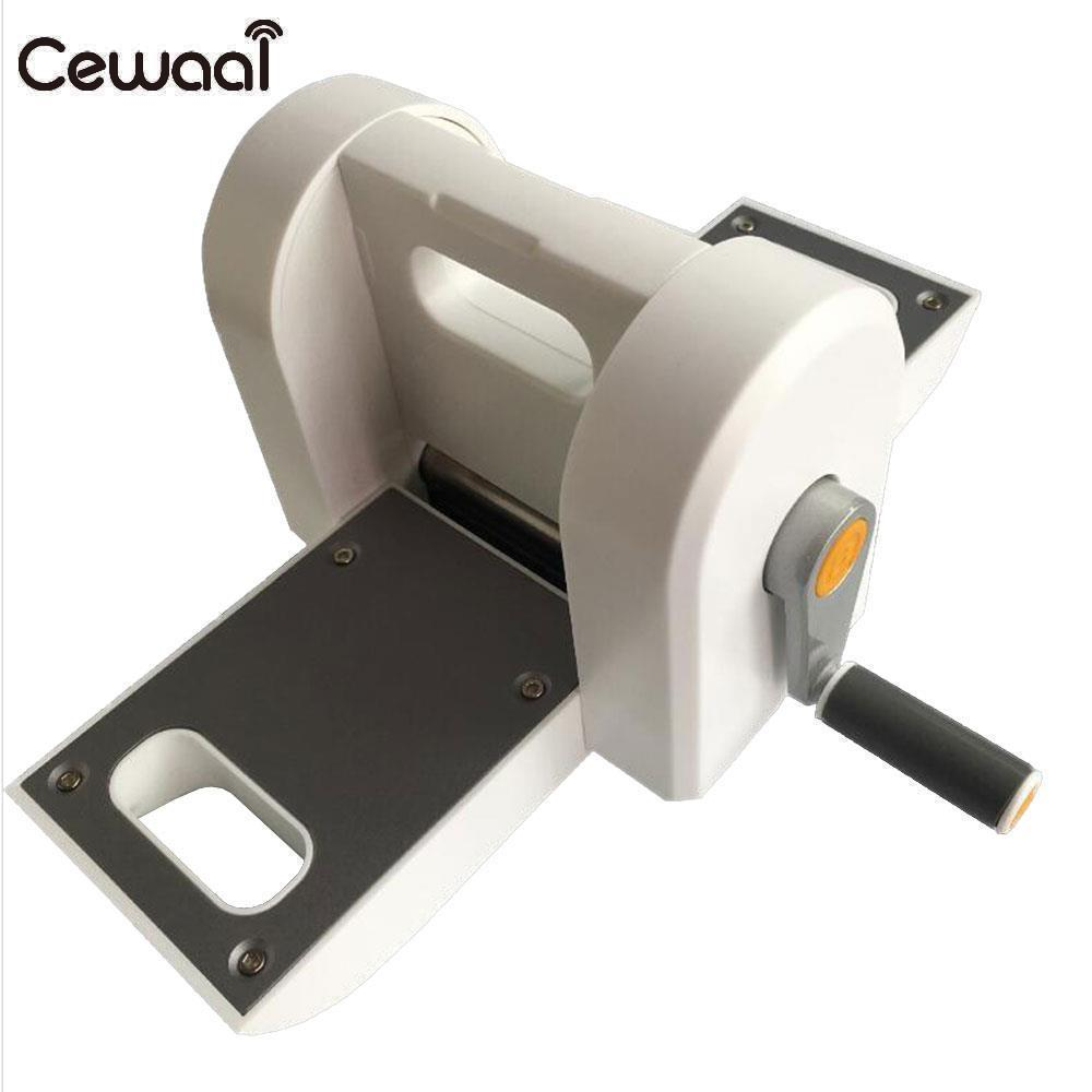 Cewaal DIY Manual Printing Machine Embossing Steel Machine Die-Cut Machine White Pressure Paper Window Flower Paper-Cut the window office paper sticker pervious to light do not transparent bathroom window shading white frosted glass tint