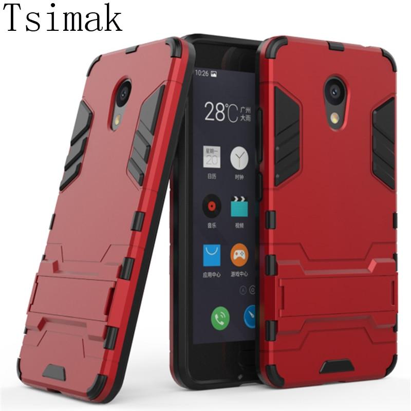 Tsimak для Meizu m5c чехол для Meizu m5c M5 C/a5 задняя крышка кремния TPU + PC Панцири полная защита телефон противоударный В виде ракушки