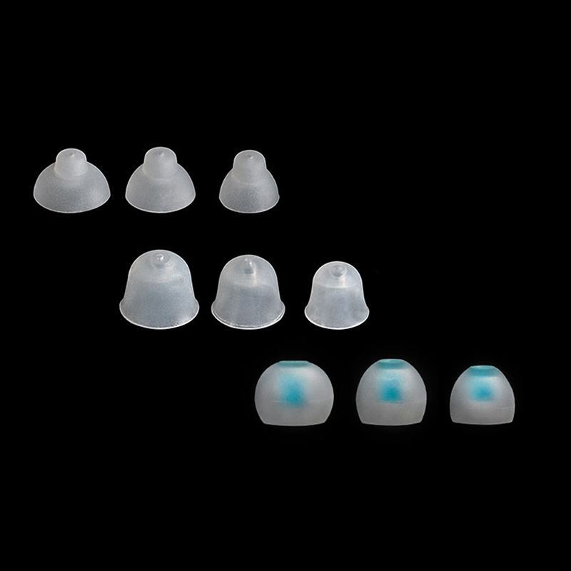 1 Set 9pcs Silicone Earplugs Fit For CIC Hearing Aids Mini Small In Ear Hearing Aid Professional Ear Plugs