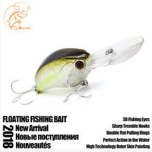 Thritop 90mm 12.5g New Fishing Lures Exhausting Bait 5 Varied Colours TP050 Fishing Equipment Crankbait Fishing Synthetic Baits
