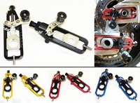 waase CNC Aluminum Chain Adjusters with Spool Tensioners Catena For Yamaha YZF R1 2009 2010 2011 2012 2013 2014