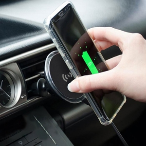 Qi Wireless Car Charger Magnet