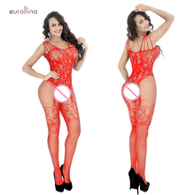 New Sexy Lingerie Jumpsuit Women Bodysuit Costumes Fishnet Stockings Clothing Set Hot Bodystocking Erotic