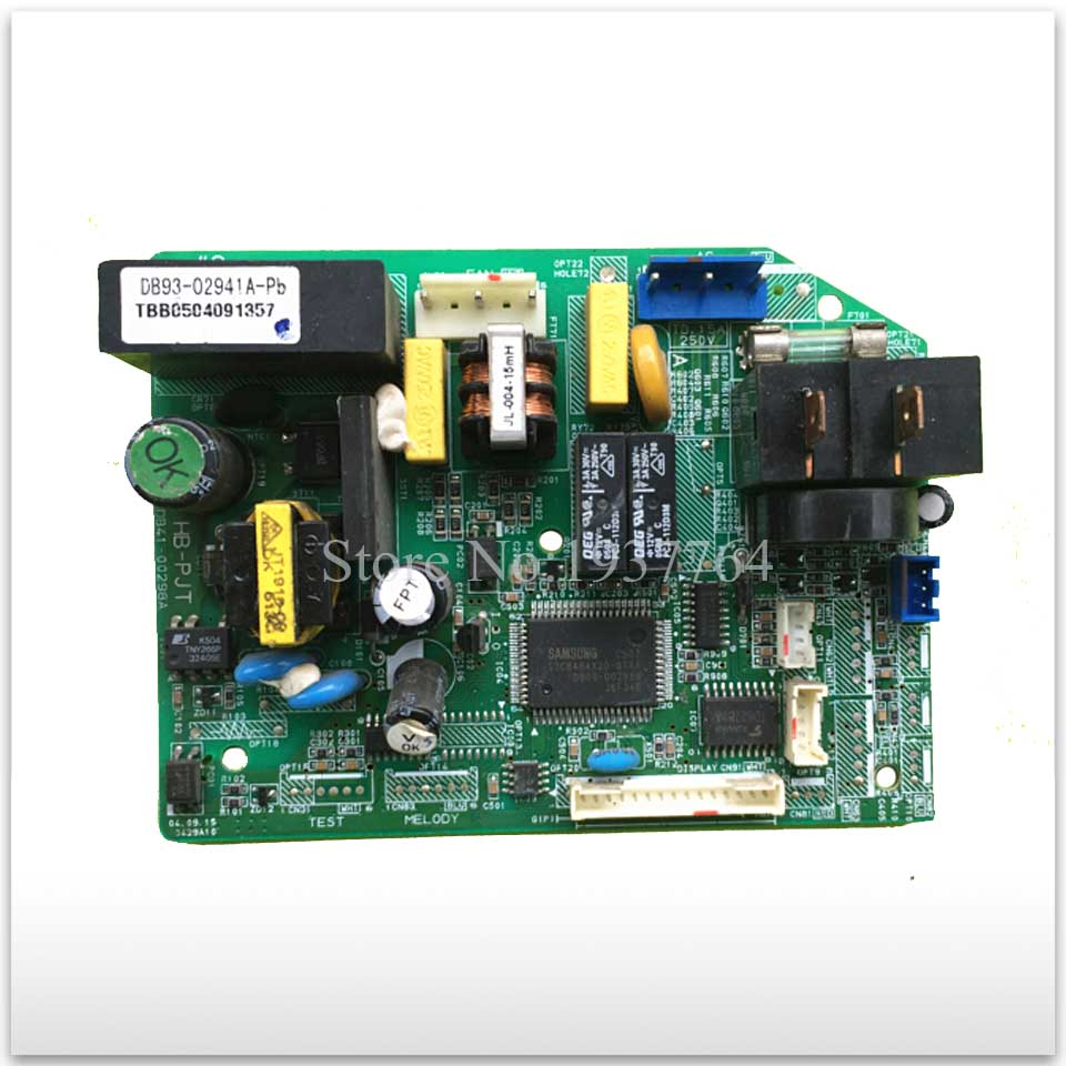 used for Air conditioning computer board circuit board KFR-35G/WCA DB93-02941A-Pb DB41-00298A indoor air conditioning parts mpu kfr 35gw dy t1 computer board kfr 35gw dy t used disassemble