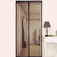 Fly Insect Stopping Net Black Door Window Screens Mesh Screen Door Mosquito Net Door For Living