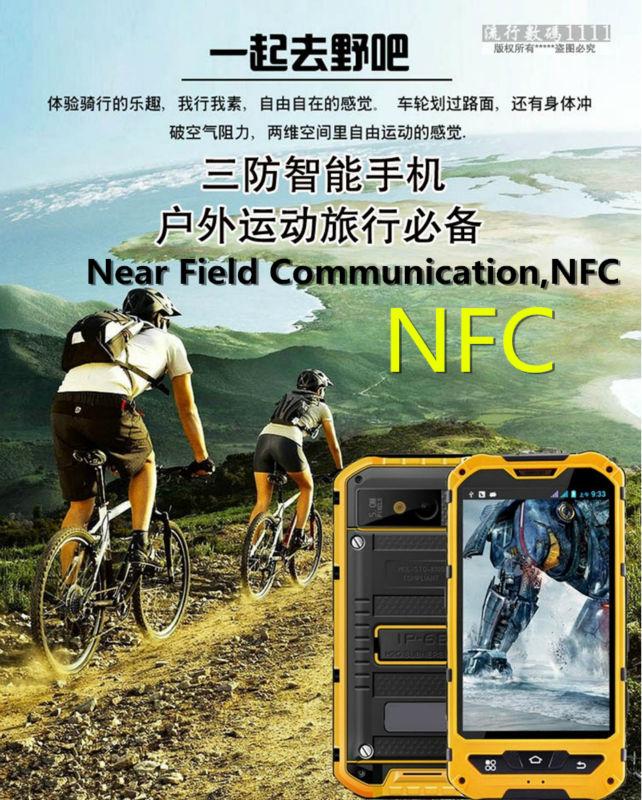 HTB1zXeOOpXXXXchaFXXq6xXFXXXX - Original A8 IP68 A9 V9 Waterproof Shockproof Rugged  Mobile Phone MTK6582 Quad Core WCDMA 1G RAM 8G  Android 4.4 3G OEM ODM NFC