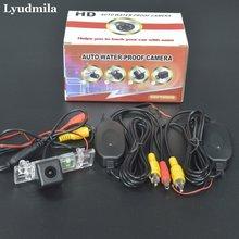 Lyumila беспроводной для peugeot 407 406 2D Купе/4D Седан/заднего вида камера/Обратный Резервное копирование камера/HD CCD ночное видение