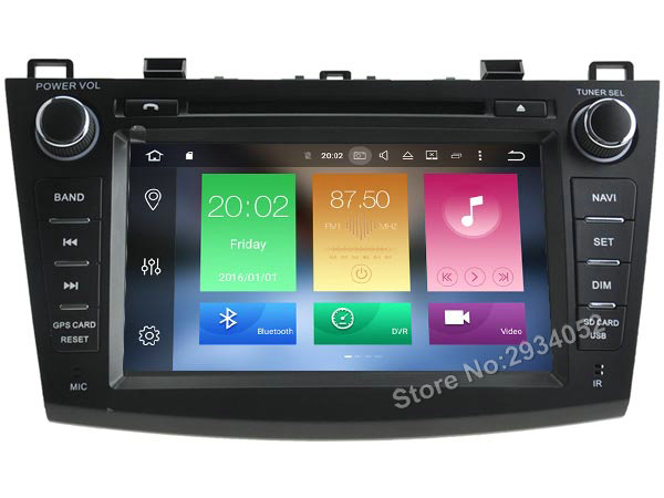 FOR MAZDA 3 2010 2012 Android 8 0 Car DVD player Octa Core 8Core 4G RAM