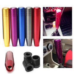 Universal Car Aluminum Manual Gear Shift Knob  Shifter Lever Stick M8 M10 M12 5-color