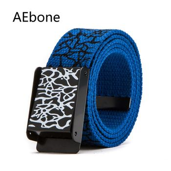 Fashion Colorful Canvas Belt for Boys 1