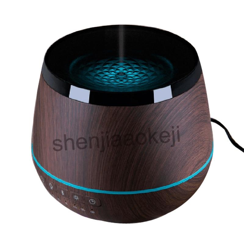 Ev Aletleri'ten Nemlendiriciler'de Bluetooth ses kokulu lamba romantik aromaterapi sprey ev sessiz yatak odası uçucu yağ difüzör hava nemlendirici 100 220 v title=