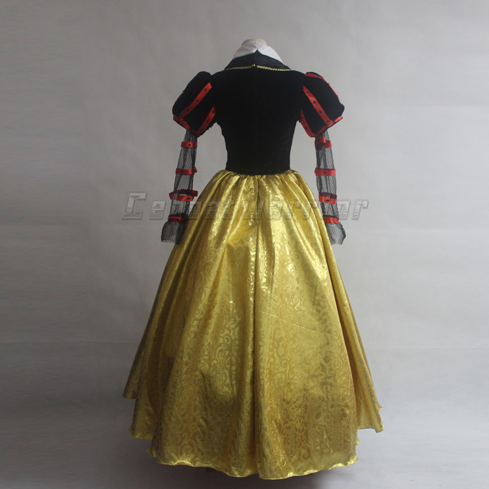 Image 4 - 映画アリス赤の女王コスチュームファンシードレス大人コスプレカスタムメイド    グループ上の ノベルティ