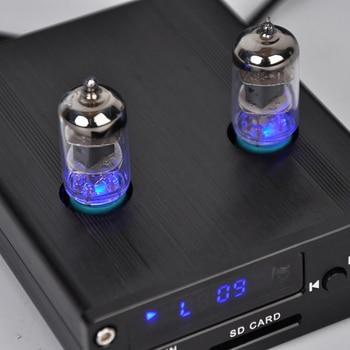 PJ.MIAOLAI M5 HIFI 6J1 tube preamplifier MP3 lossless audio music player Decoder Electron Tube Audio preamplifier