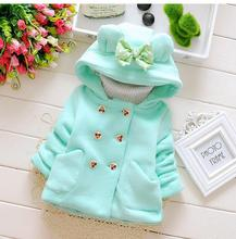 Baby Winter Cotton Coat Baby Girl Candy Cute Thick Down Boy Outerwear Snow Wear Fabric Waterproof