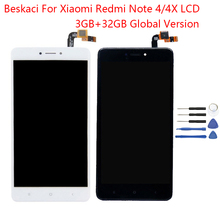 Beskaci Display For Xiaomi Redmi Observe 4x four LCD Body Show Contact Display For Redmi Observe four World Model 32GB Snapdragon 625