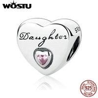 2016 New 100 925 Sterling Silver Daughter S Love Charm Beads Fit Original Pandora Bracelet Bangle