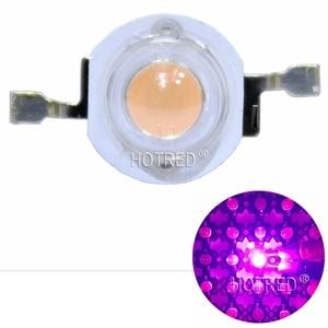 Image 2 - 100 個の led 3 ワット bridgelux 400nm 840nm フルスペクトルは光 Led チップ 45mil で 700mA 植物ライトブロードスペクトラム 20 ミリメートル/16 ミリメートル PCB