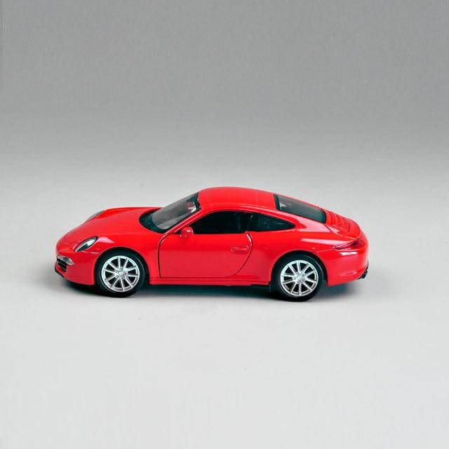 Coche De Deportes Rojo Miniatura De Carro Clasico Coleccion Ninos De