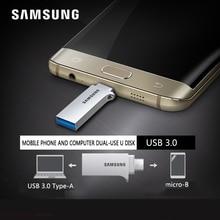 SAMSUNG USB Flash Диск OTG 32 ГБ 64 ГБ 128 ГБ USB3.0 Крошечные Pen drive Memory Stick Устройства Хранения U Диск Для Мобильного Телефона