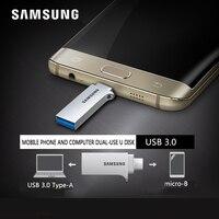 SAMSUNG USB Flash Drive Disk OTG 32 GB 64 GB 128 GB USB3.0 Tiny Pen drive Memory Stick Opslagapparaat U Disk Voor Mobiele Telefoon