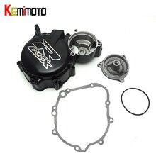 KEMiMOTO For Suzuki Engine Stator Crank Case Cover for Suzuki GSX-R 600 GSX-R750 2006-2015 Motorcycle Engine Stator Cover